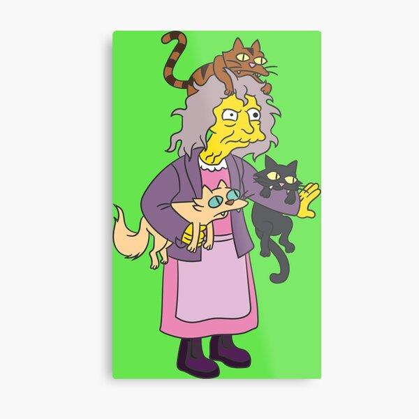 Eleanor Abernathy (Cat's crazy) Metal Print
