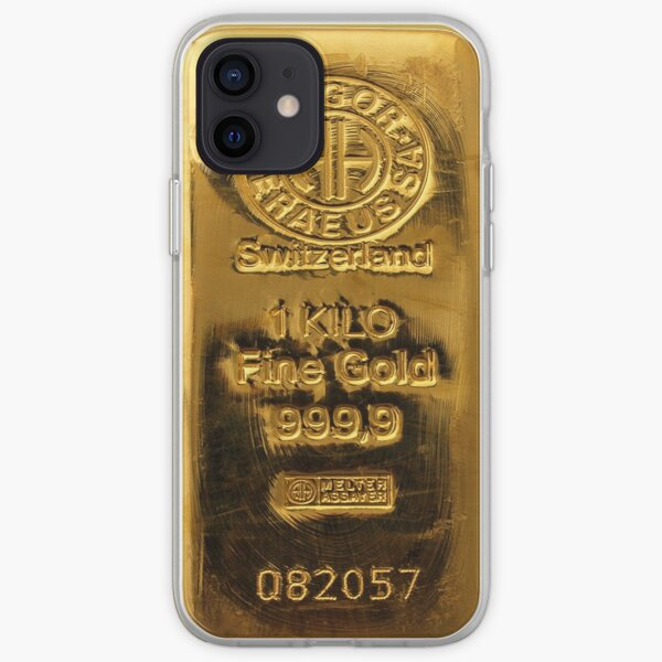 Suisse Fine Gold Coque souple iPhone
