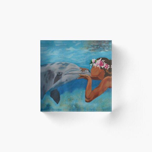Hawaiian Kiss Acrylic Block