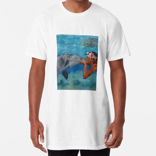 Hawaiian Kiss Long T-Shirt