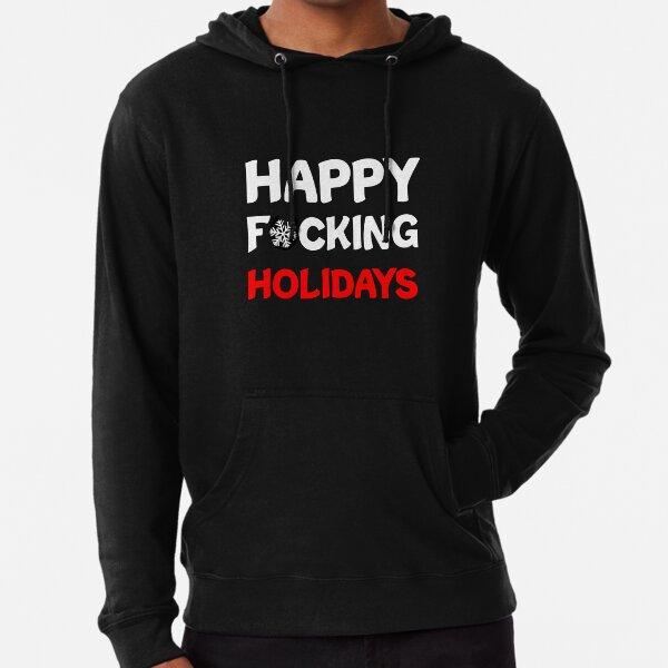 Merry F*ckin Christmas Green Hand Ball Ornament Cartoon Angry Hoodie Sweatshirt