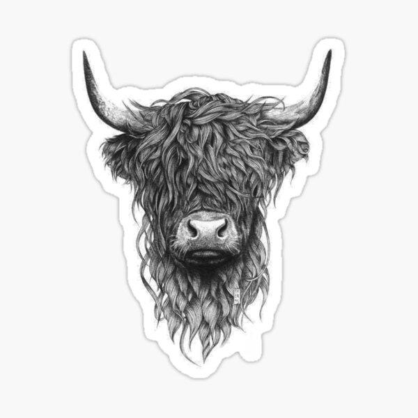 Highland Sticker