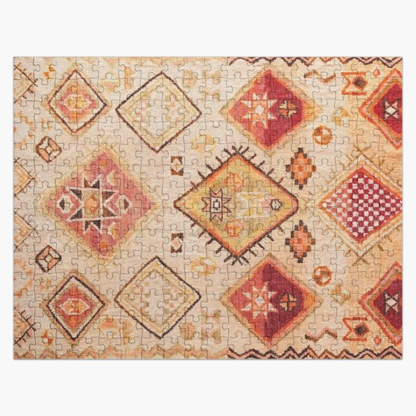 Vintage Berber Desert Traditional Moroccan Style  Jigsaw Puzzle