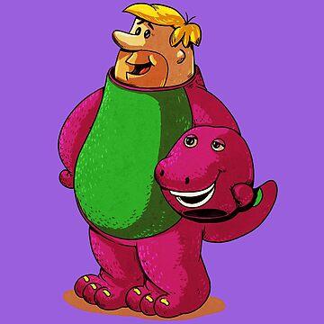 Barney Unmasked by nellyjellyrom