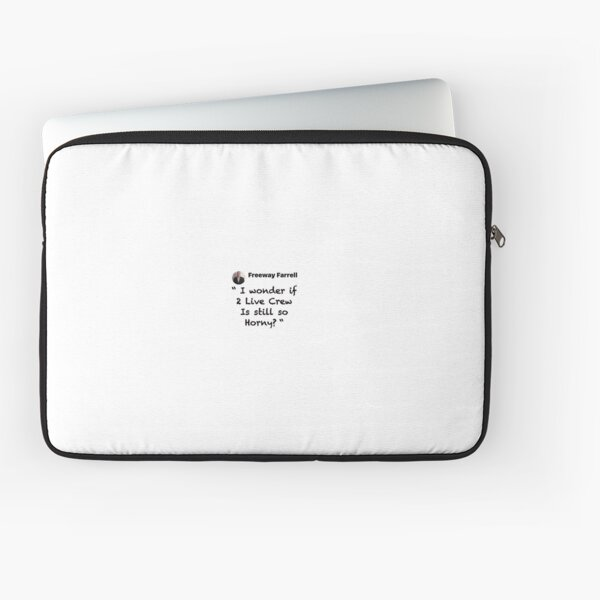2 live  Laptop Sleeve