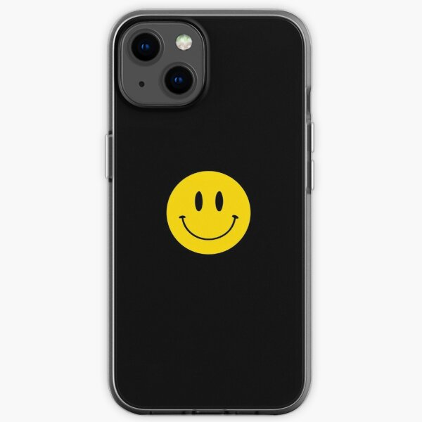 Happy Face   Smiley   2    iPhone Soft Case