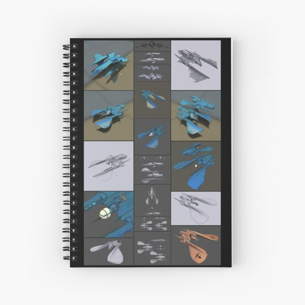 EVOLUTION OF THE RENEGADE MERCHANT Spiral Notebook