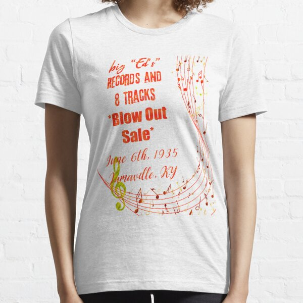 big ed's records and 8 tracks Essential T-Shirt