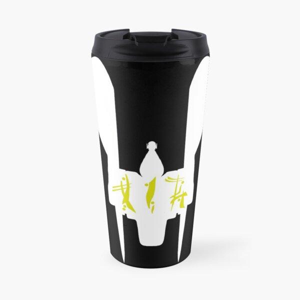 RENEGADE MERCHANT IN OMYAKON OVER SILHOUETTE (FOR DARK COLORED BACKGROUND) Travel Mug
