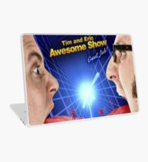 tim and eric awesome show Laptop Skin