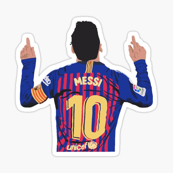 Pegatina Messi Pegatina