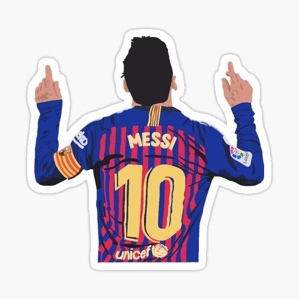 Messi Autocollant Sticker