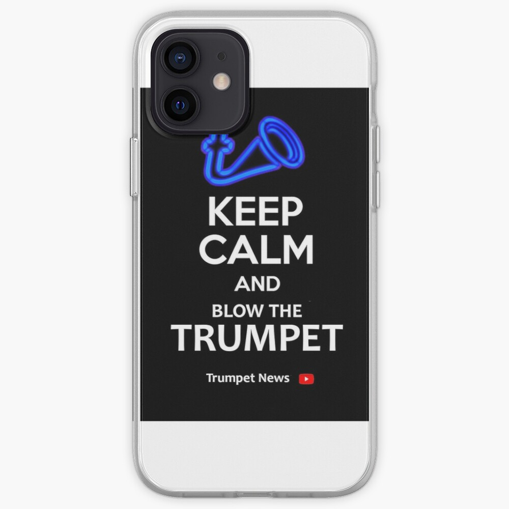 Trumpet News Mug iPhone Case & Cover