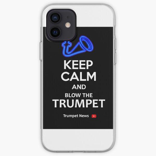 Trumpet News Mug iPhone Soft Case