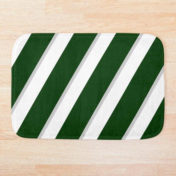 Spartan State Stripes Bath Mat
