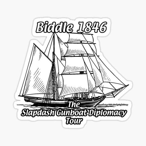 Slapdash Gunboat Diplomacy Sticker