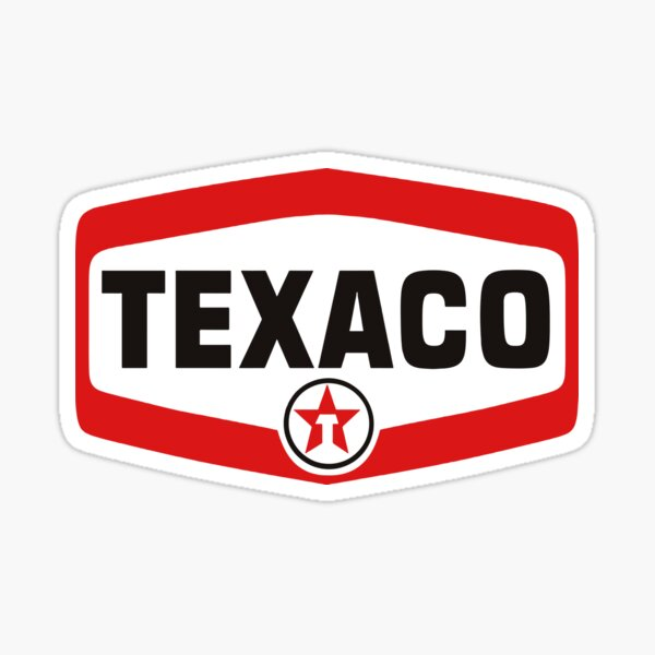 huile moteur texaco vintage Sticker