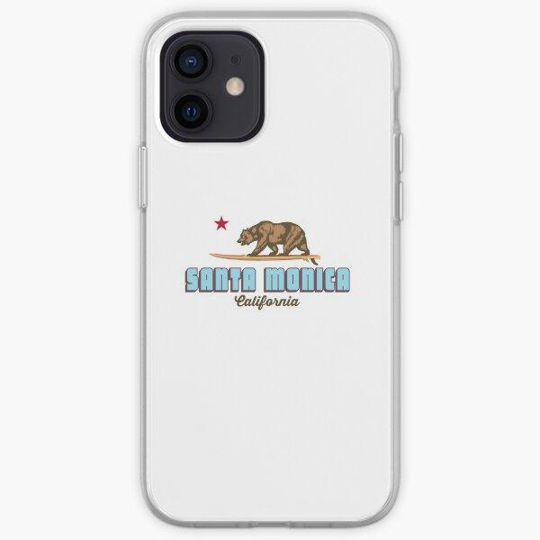 Santa  Monica. iPhone Soft Case