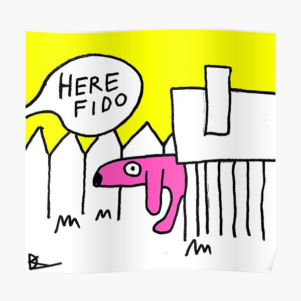 Here Fido Poster