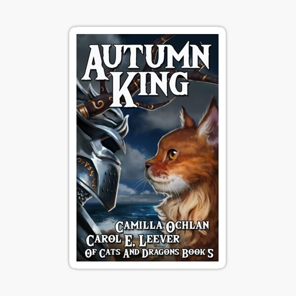Autumn King Cover Image Sticker