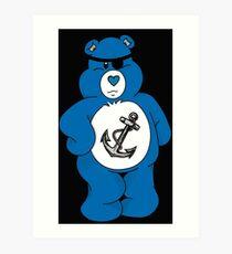 Pirate Bear Art Print