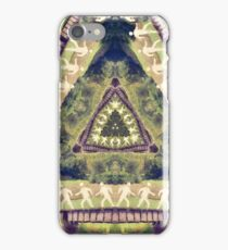 Walkers On A Railroad iPhone Case/Skin