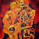Trick or Treat Corpse Embracing Death After Kubista by taiche