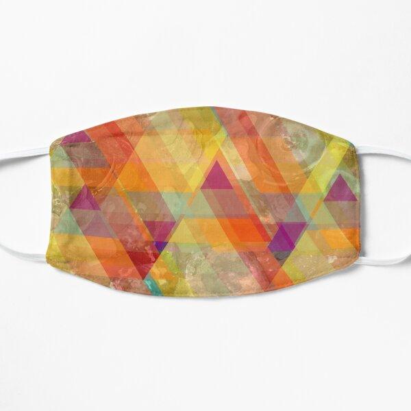 Sea glass triangle Flat Mask