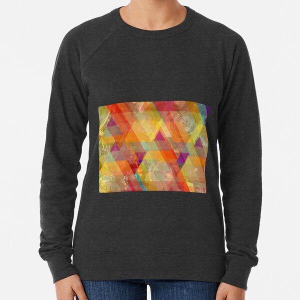 Sea glass triangle Lightweight Sweatshirt