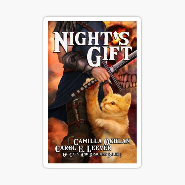 Night's Gift Cover Image Sticker