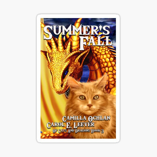 Summer's Fall Cover Image Sticker