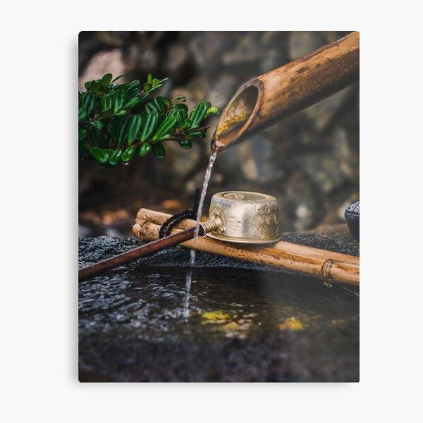 The sacrality of water Metal Print