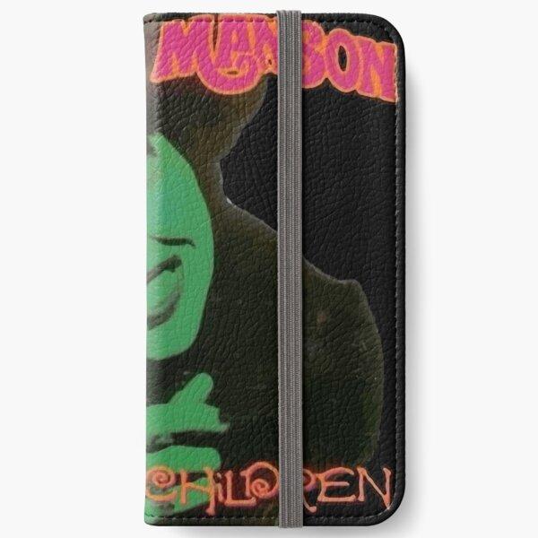 Matta Marilyn Manson sent Étui portefeuille iPhone