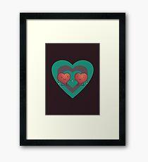 HEART 2 HEART Framed Print
