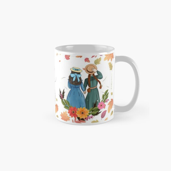 Anne with an E and Diana from Avonlea Green Gables - Best Friends Classic Mug