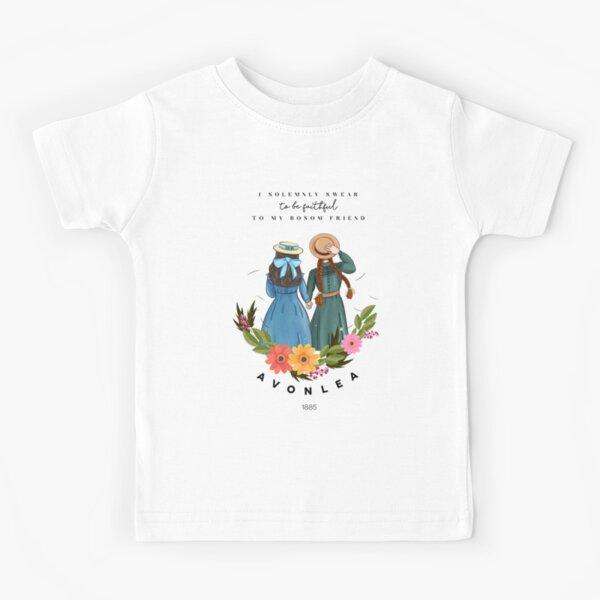 Anne avec un E et Diana d'Avonlea Green Gables - Best Friends T-shirt enfant