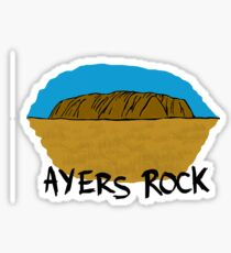 Ayers Rock Sticker