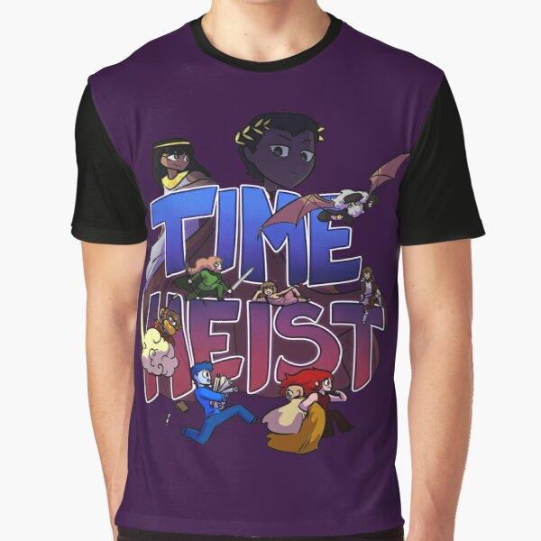 Time Heist Graphic T-Shirt
