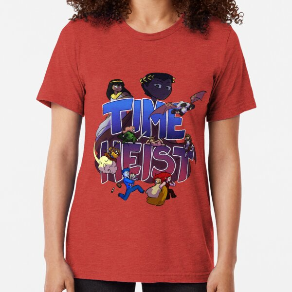 Time Heist Tri-blend T-Shirt