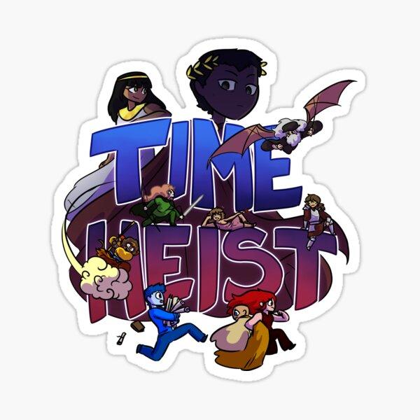 Time Heist Sticker