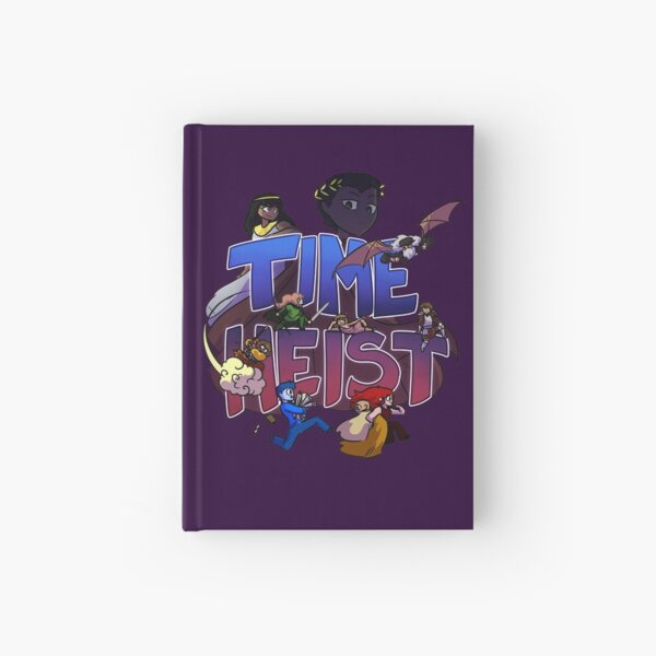 Time Heist Hardcover Journal