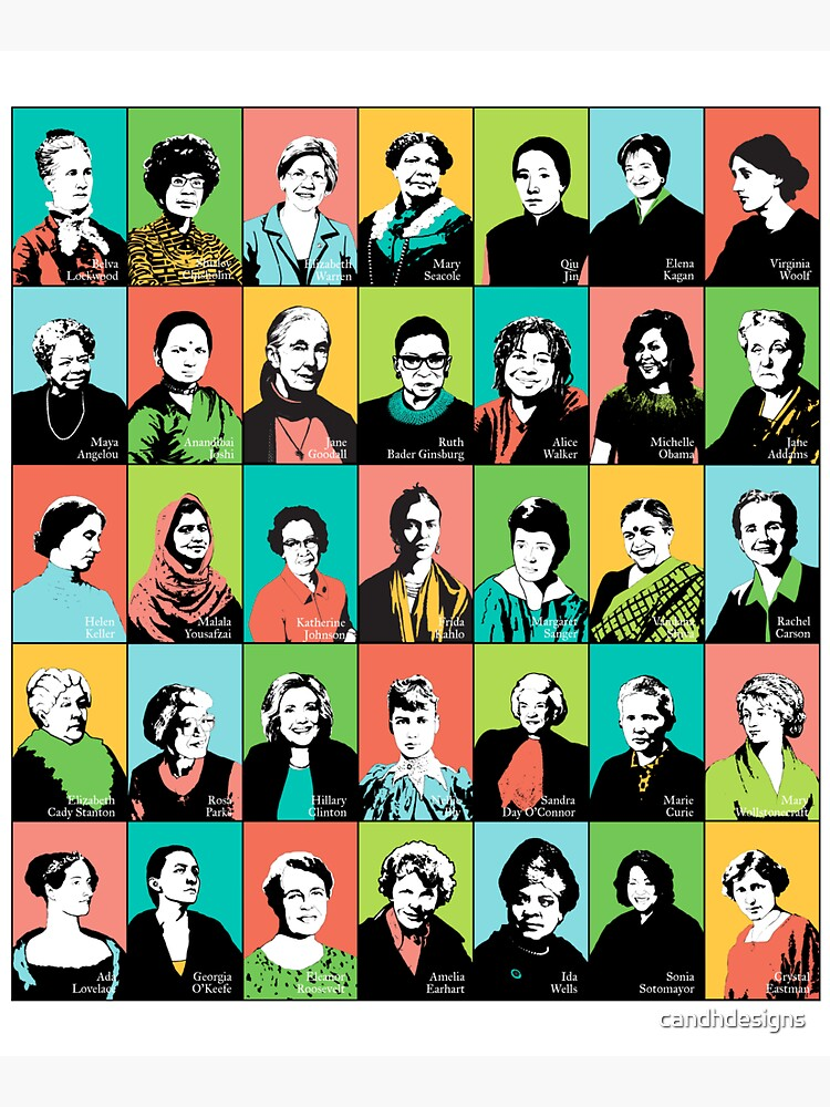 Feminist Icons by candhdesigns