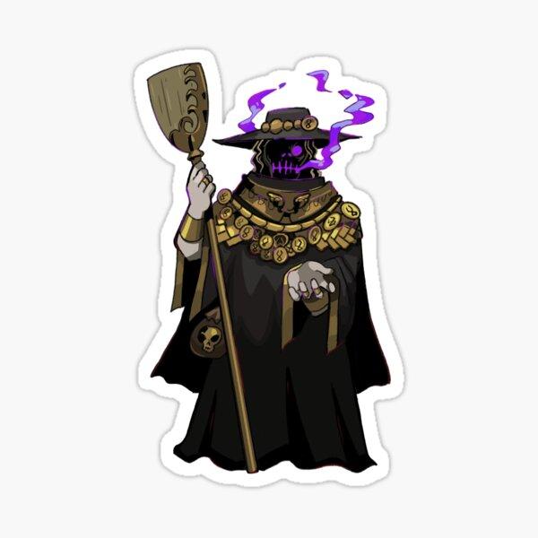 Charon (Hades Game) Sticker, T-shirt Sticker