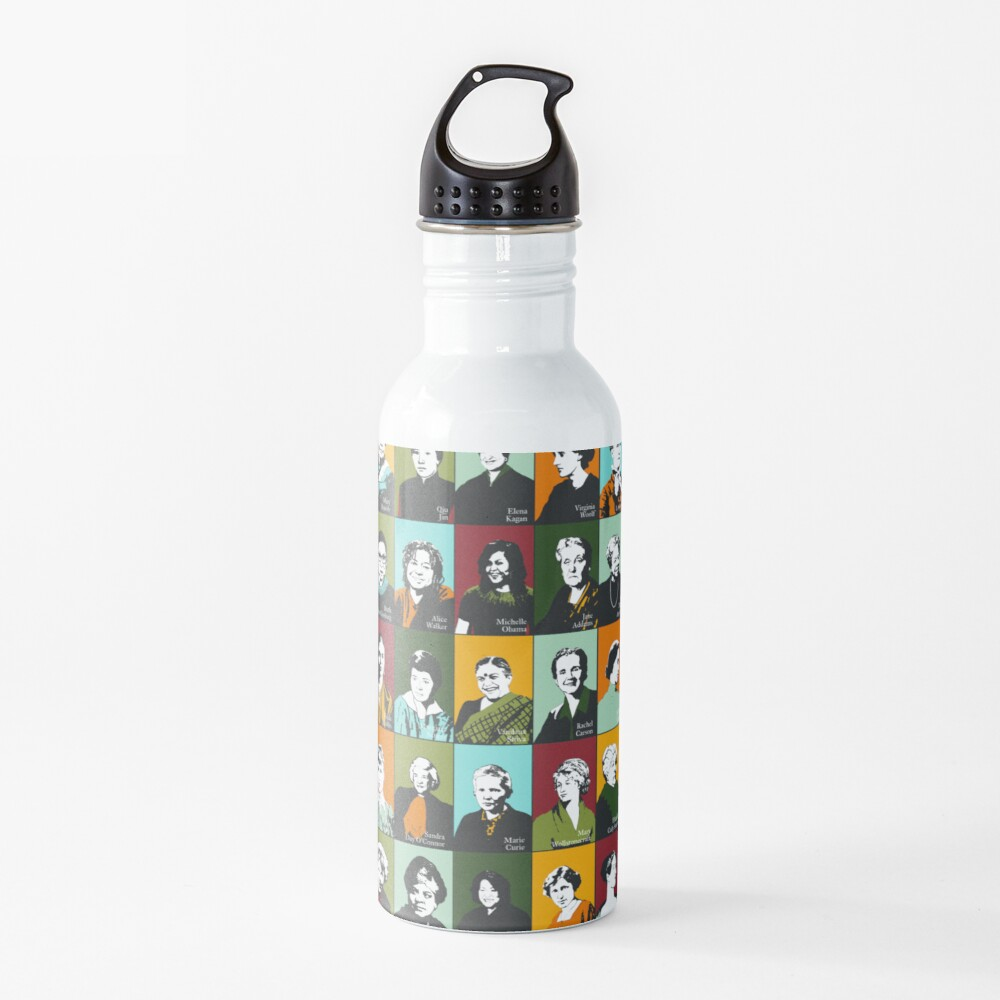 Feminist Icons, Role Models Water Bottle