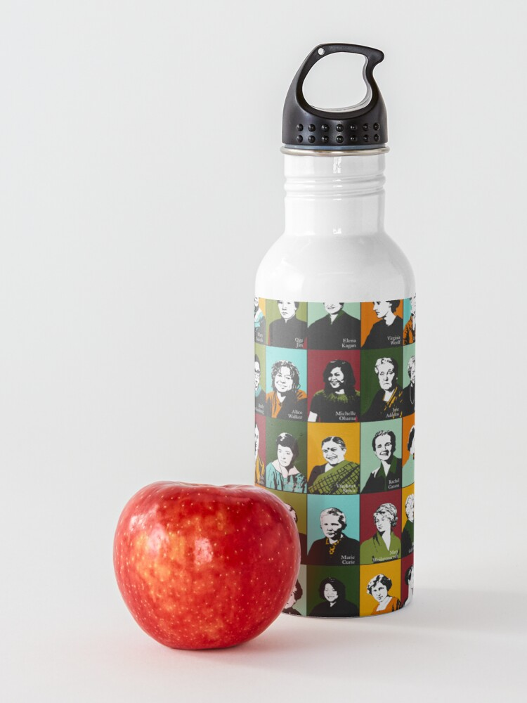 Alternate view of Feminist Icons, Role Models Water Bottle