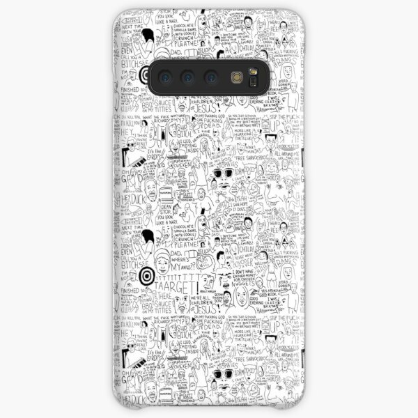 an Ultimate vine compilation but instead of a video its just terribly drawn  Samsung Galaxy Snap Case