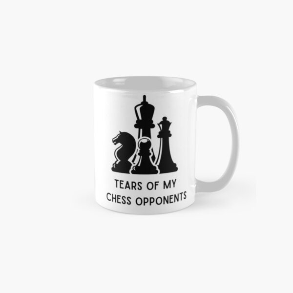 Tears of my chess opponents Classic Mug