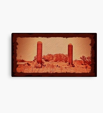 """""""Cousin Cooter's Country Version of  J. R. R. Tolkien's, 'The Lords of the Ring: The Two Towers'""""... prints and products Canvas Print"""