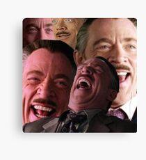 Jameson Hysterical Laugh Canvas Print