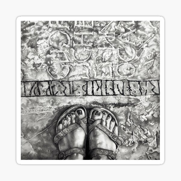 Art Beneath Our Feet Project - Gotland Sticker